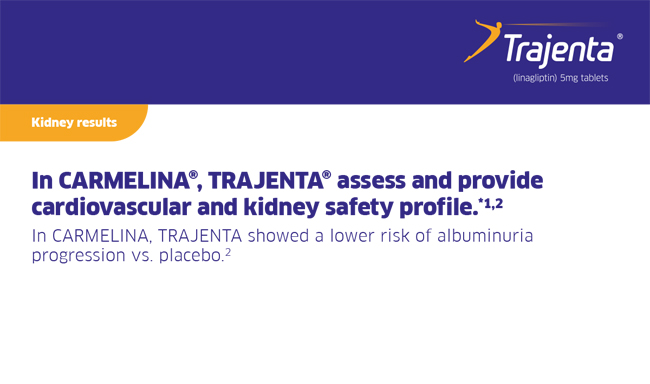 Carmelina Kidney Results - Lower Risk Of Albuminurea