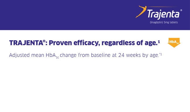 Trajenta Efficacy Regardless of Age