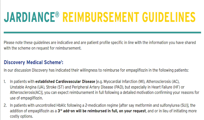 Reimbursement Information